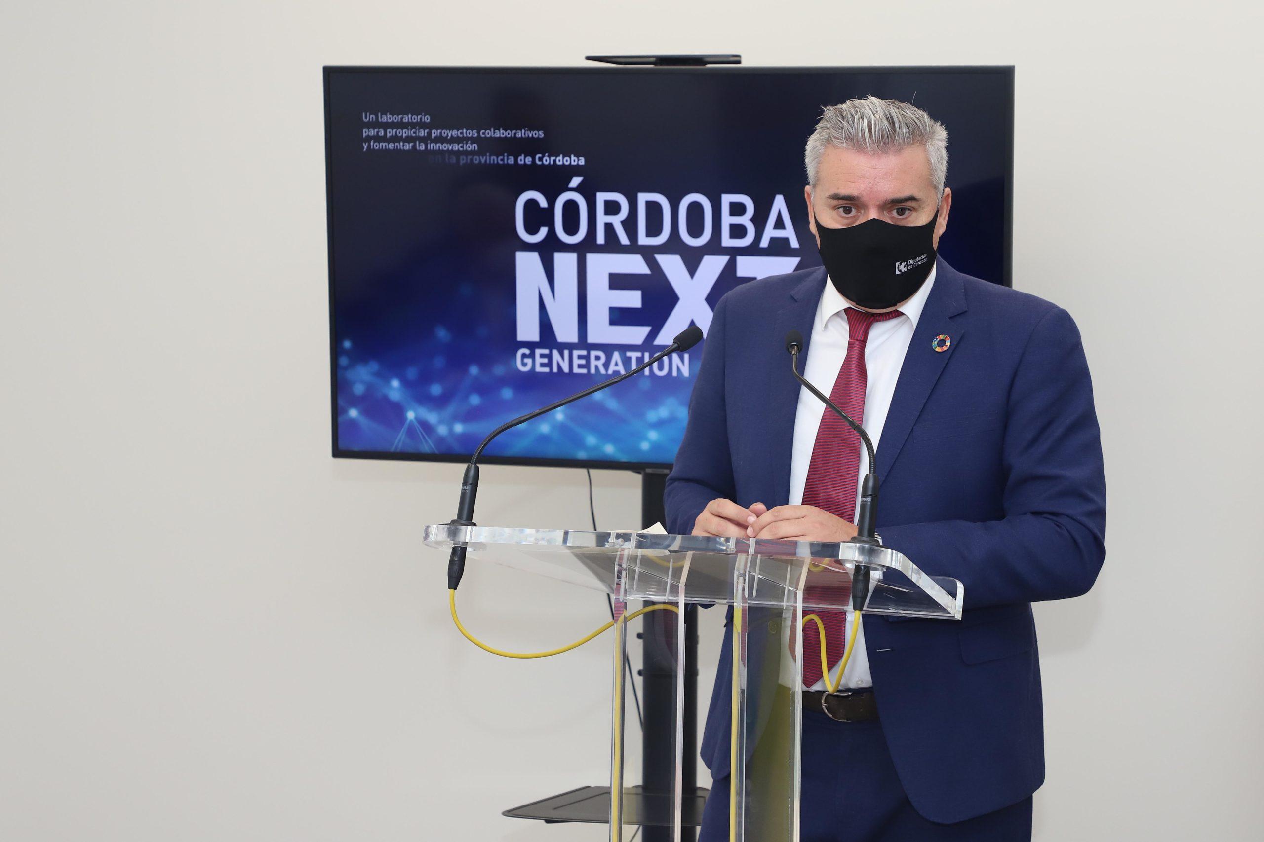 La Diputación pone en marcha un buscador inteligente de convocatorias de ayudas europeas en  la web Córdoba Next Generation Lab